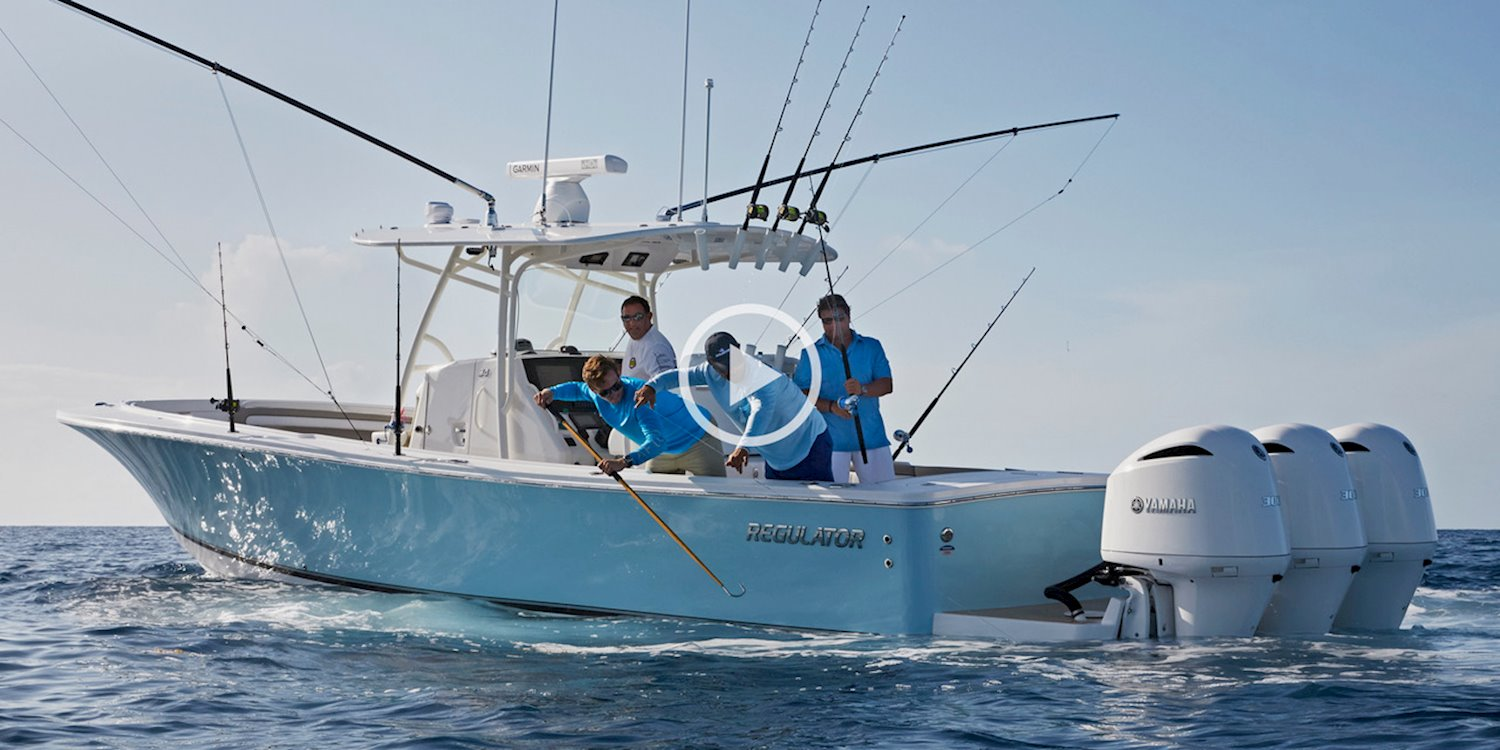 Home of the Offshore Life | Regulator Marine Boats